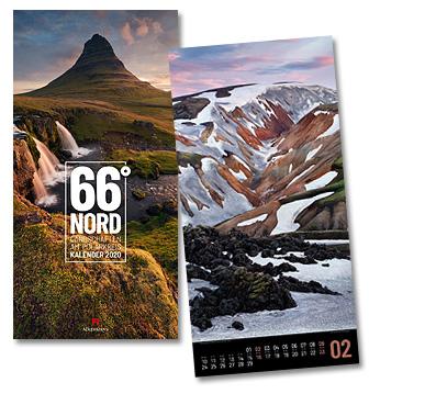 66 Grad Nord Kalender von Ackermann 2020