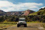 Um nach Landmannalaugar zu kommen, benötigt man keinen sonderlich guten SUV, nur Allrad ist laut den allermeisten Mietverträgen Pflicht.