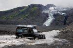 Sobald man in Island ins entlegenere Hochland fahren möchte, muss die eine oder andere Furt durchquert werden.