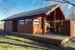 Vielerorts vermietet werden in Island Cabins, kleinere oder größere Holzhütten.