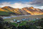 Landmannalaugar, da steht zweifelsohne die beliebteste Wanderhütte Islands