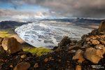 Vor allem der Blick aus der Vogelperspektive hat es uns angetan, in Island ist fast jeder etwas höhere Hügel ein toller Aussichtsberg.