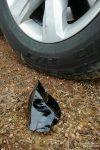 Wir fragten uns, wie lange die wohl schon in den Reifen waren, ob der Obsidian in Hrafntinnusker etwas zu tun hatte (messerscharfes Lavagestein) und wie lange die Reifen wohl noch durchhalten würden...