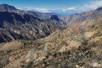So mancher Berghang und Canyon in Richtung Westen sieht nun recht verbrannt und trostlos aus...