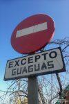 Und hier durften ausschließlich Guaguas unterwegs sein. Ich fand das Wort herrlich, das sind die Busse! ;-)
