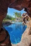 Ganz besonders gut gefielen uns die Pools des Lopesan Baobab. Sogar zum Felsbögen-Fotografieren musste man das Resort nicht verlassen! ;-)
