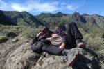 Während der ersten Tage sind wir in den Bergen rund um den Roque Grande fleißig herumgewandert... ;-)