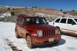 Nur die Anfahrt zum Trailhead der Coyote Buttes North ist im Winter nicht so ohne. Schnee weicht den Lehm auf und die Piste kann extrem rutschig werden. Unbedingt vorher den Straßenzustand erfragen und ggf. einen Guide/Shuttle buchen.