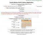 Lotterie-Antrag wie er auf der BLM-Webseite aussieht/aussah