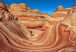 Sehnsuchtsziel vieler USA-Reisenden: für einen Spazierang durch die Wave in den Coyote Buttes North muss man vorher erst ein Permit gewinnen