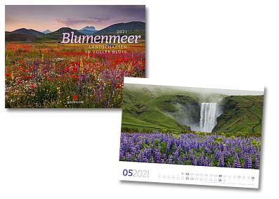 Blumenmeer Kalender von Ackermann 2020