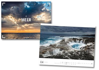 Gallery Meer Kalender von Ackermann 2020