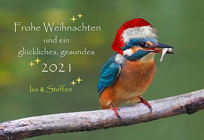 Frohe Weihnachten und ein glückliches, gesundes 2021