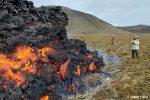 Vielerorts kam man der Lava richtig hautnah. Verrückte Besucher nutzen den Naturofen sogar zum Pizzabacken oder Würtschengrillen. :-)))
