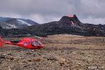So geht es am allerschnellsten und am bequemsten zum Vulkan, aber ganz billig ist so ein Helikopterflug nicht. Wie halt das meiste in Island... ;-)