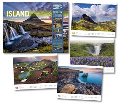 Island Kalender von Ackermann 2020